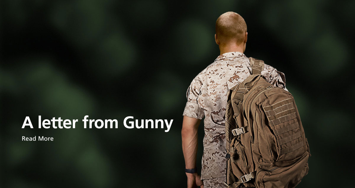 A letter from Gunny - Read More